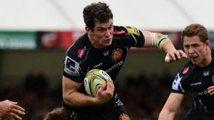 Ian Whitten: Exeter Chiefs back happy with move from centre to wing