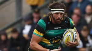 Northampton Saints: Tom Wood pushed in gym by Frozen's 'Let It Go'