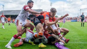 Super League: Catalans Dragons v Castleford Tigers