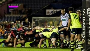 Edinburgh out-gunned at home by Leinster
