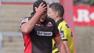 Fraser McKenzie: Edinburgh lock banned for two weeks for dangerous play