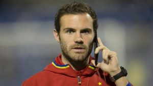 Spain: Man Utd's Juan Mata left out of squad for World Cup qualifiers
