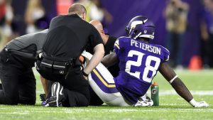Fantasy Football Instant Injury Reaction: Down goes Adrian Peterson