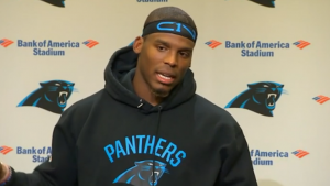Cam Newton not concerned about health, says he only worries about one thing