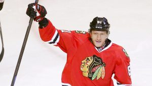 Team Europe's Hossa leaves game with injury