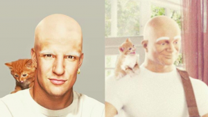 LOOK: Bald Rob Gronkowski is auditioning to be the next Mr. Clean