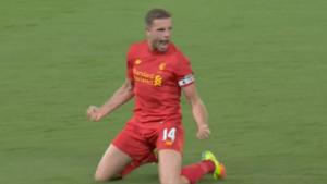 WATCH: Liverpool's Henderson scores magnificent goal that stuns Chelsea