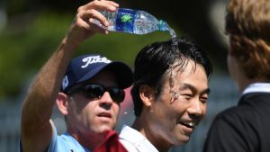 Kevin Na somehow plays final round of Tour Championship under two hours