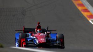 Watch Mikhail Aleshin's tire explode during IndyCar race at Watkins Glen