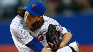 Mets' deGrom to start Sunday on pitch count