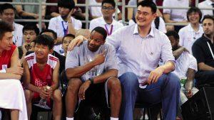 McGrady: 'I am proud to call Yao my friend'