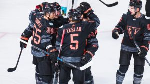 North America beats Europe in WC exhibition