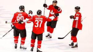 Canada routs Czech Republic in World Cup debut