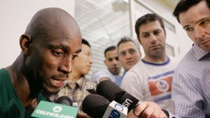 Kevin Garnett cooked up stories that were as entertaining as his play