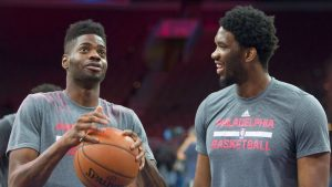 Noel frustrated by Sixers' logjam at center
