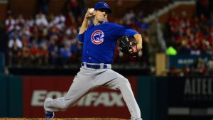 Cubs' Kyle Hendricks loses no-hit bid against Cardinals with home run in 9th