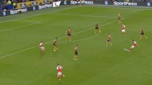 WATCH: Arsenal's new star scores breathtaking, long-range rocket goal
