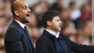 Guardiola's City slips to first defeat at Spurs