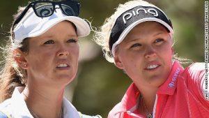 Family affair: Golf's major-winning sister act