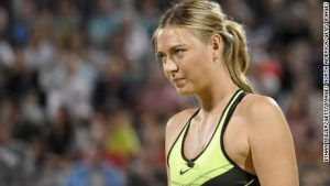 'Fun and laughs' as Sharapova returns to the court