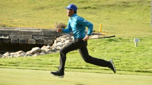 Hole in run! Who will be crowned world's fastest golfer?