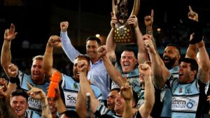 Cronulla Sharks beat Melbourne Storm to win first NRL title