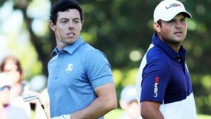 Ryder Cup 2016: 'Ding dong' battle between Rory McIlroy & Patrick Reed