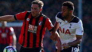 Tottenham held to draw at Bournemouth