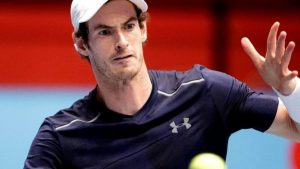 Andy Murray fights back to beat Gilles Simon at Vienna Erste Bank Open