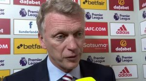 Sunderland 1-4 Arsenal: David Moyes says players are doing their best