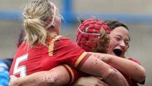 Wales women beat Scotland in Arms Park opener