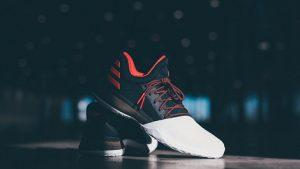 Adidas unveils the +ACYAIw-039+ADs-James Harden Volume 1+ACYAIw-039+ADs signature shoe