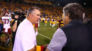 Todd Graham cusses out Mike Leach after loss for comments on sign stealing