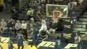 WATCH: Grizzlies' D.J. Stephens' preseason dunk is completely outrageous