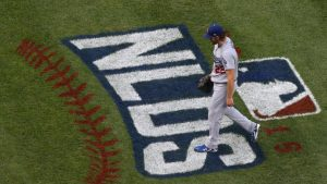 LOOK: Dodgers ace Clayton Kershaw reveals a new trick up his sleeve in Game 1