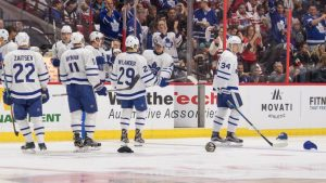 NHL players had the best reactions to Auston Matthews' historic four-goal debut