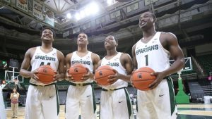 Michigan State will turn early to the best freshman class of Tom Izzo+ACYAIw-039+ADs-s career
