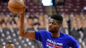 Sixers+ACYAIw-039+ADs Nerlens Noel will have minor knee surgery, no timetable for return