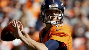 Source: Broncos QB Siemian to start vs. Chargers