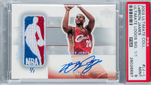 LeBron signed rookie card sells for $312,000