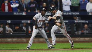Conor Gillaspie becomes latest Giant to deliver storybook moment