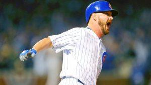 Blast plus sweet relief put Cubs on brink of NLCS