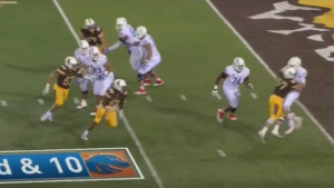 WATCH: Wyoming upsets No. 13 Boise State on a game-winning safety