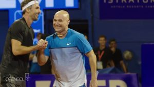 Agassi: From wild child to role model