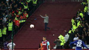 'Unacceptable' fan clash in derby