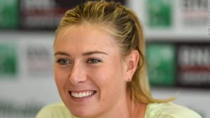 WTA chief excited by Sharapova return