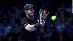 Murray wins first match as new No. 1 at tour finals