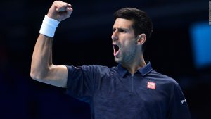 Djokovic makes semifinals at World Tour Finals