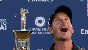 Race to Dubai: Henrik Stenson hails 'best year'