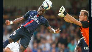 PSG star barred from UK
